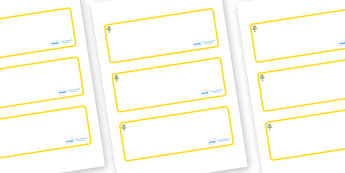 Flower Themed Editable Drawer-Peg-Name Labels (Blank) - Themed Classroom Label Templates, Resource Labels, Name Labels, Editable Labels, Drawer Labels, Coat Peg Labels, Peg Label, KS1 Labels, Foundation Labels, Foundation Stage Labels, Teaching Label