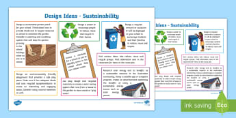 Year 3 and 4 Design Technology Sustainability Teaching Ideas - Australia YR 3 and 4 Design Technology, sustainability lessons, sustainability lesson ideas, recycli