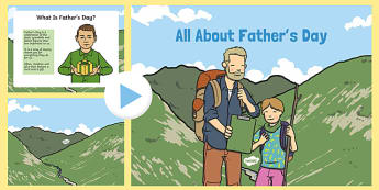 EYFS All About Father's Day PowerPoint