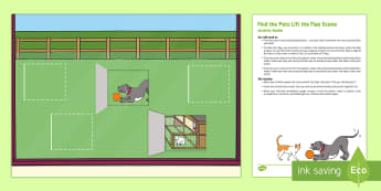 Find the Pets Lift the Flap Scene Busy Bag Resource Pack for Parents - EYFS Pets, Animals, National Pet Month, lift-the-flap