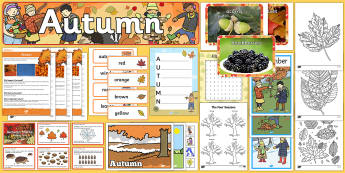 When is Autumn? Resource Pack-Australia - when is autumn, seasons, autumn, seasonal change, spring summer winter, months of the year, ,Austral