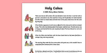 Holy Cakes Story