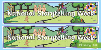 National Storytelling Week Banner