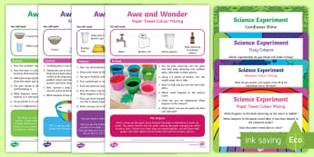 British Science Week 2017 Changes Experiment Resource Pack - KS1, Year 1, Year 2, EYFS, Reception, Science, British Science Week 2017, Change, Experiment, Invest