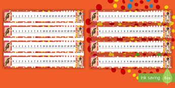 NAIDOC Week 0-20 Number Line - EYLF, Australia, aboriginal, indigenous, early years, counting, numbers, kindergarten, pre-primary,