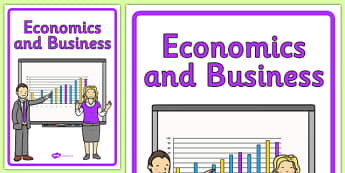 Curriculum Economics and Business Book Cover - book cover, front page, title page, economics, business Australian Curriculum, labels, Australia
