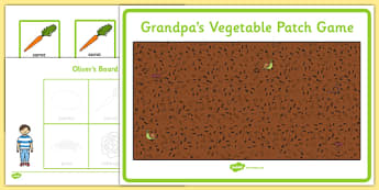 Grandpa's Vegetable Patch Game