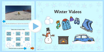 Winter Video PowerPoint - winter, video, powerpoint, winter video, winter powerpoint, video powerpoint, seasons, seasons powerpoint, seasons video