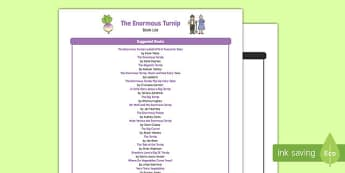The Enormous Turnip Book List