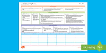 New Zealand Level 3 Writing Weekly Plan - Literacy, Writing, Level 3, Weekly Planning, weekly writing planning