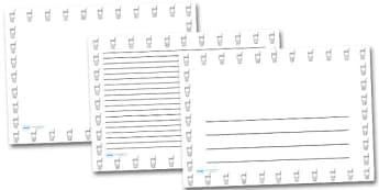 Milk in a Glass Landscape Page Borders- Landscape Page Borders - Page border, border, writing template, writing aid, writing frame, a4 border, template, templates, landscape