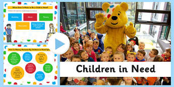 Children in Need Presentation - children in need, powerpoint, charity, children, need