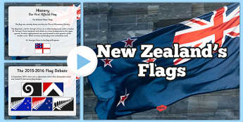 New Zealand's Flag PowerPoint