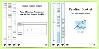 Year 5 Reading Assessment: Non-Fiction Term 2 - year 5, reading, assessment, non-fiction, term 5