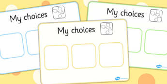 Choice Board - choice, board, choosing, decisions, choices, word board, image board, helping choices,board of choices, different choices, opinions