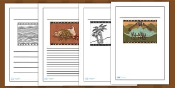 Kingdom of Benin: Yoruba Creation Story Writing Frames