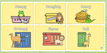Story Sequencing to Support Teaching on Dear Zoo  - Dear Zoo, Rod Campbell story, zoo, zoo animals, adjectives, descriptive words, lion, monkey, puppy, giraffe, story book, story book resources, story sequencing, story resources, zoo, animals,