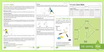 Umpire's Toolkit Resource Pack - rounders, rules, bases, pitch, score,