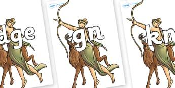 Silent Letters on Artemis - Silent Letters, silent letter, letter blend, consonant, consonants, digraph, trigraph, A-Z letters, literacy, alphabet, letters, alternative sounds