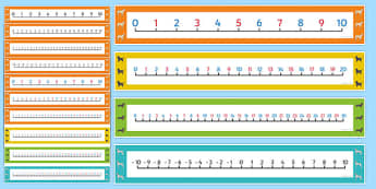 Dog Themed Number Lines Pack up to 30 - Dame Lynley Dodd, hairy maclary, dog, number lines, pack, 30