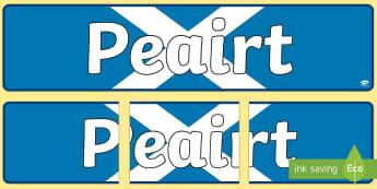 Perth (Peairt)  Display Banner Gaelic - CfE Gaelic DisplayPeairtPerthDisplay BannerCitiesScottish CitiesPeople & PlaceCurricular Areas,Scott
