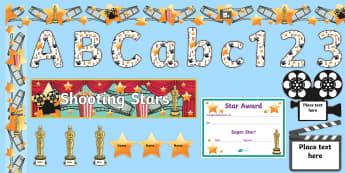 Film Star Reward Display Pack - Film Star Reward Display Pack - film stars, reward, display pack, film star, movie star reward chart