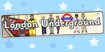 London Underground Role Play Banner - roleplay, header, display