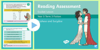Year 5 Reading Assessment Fiction Term 3 Guided Lesson PowerPoint - Year 3, Year 4 & Year 5 Reading Assessment Guided Lesson PowerPoints, KS2, reading, read, assessment