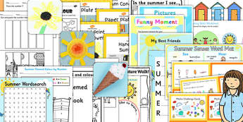 KS1 Summer End of Year Activity Pack - ks1, summer, end, year