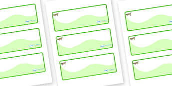 Grasshopper Themed Editable Drawer-Peg-Name Labels (Colourful) - Themed Classroom Label Templates, Resource Labels, Name Labels, Editable Labels, Drawer Labels, Coat Peg Labels, Peg Label, KS1 Labels, Foundation Labels, Foundation Stage Labels, Teach