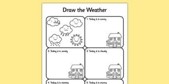 Fiche d'activités : La météo - Anglais LV
