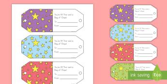 Teacher Appreciation Chip Bag Gift Cards - Teacher Appreciation Week, Teacher Appreciation, gift tags, positive, complements, staff complements