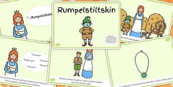 Rumpelstiltskin, lectura, rezumat cu imagini, planse imprimabile, Romanian