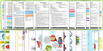 EYFS Adult Input Planning and Resource Pack to Support Teaching on Supertato