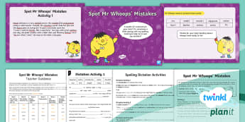 PlanIt English Y2 Term 3A Assess and Review Spelling Pack - Spellings Year 2, Term 3A, W7, Assess and review, assessment, cloze procedure, dictation passage,