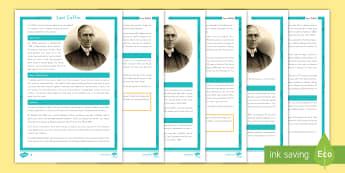Levi Coffin Differentiated Fact File - United States History, Indiana History, Indiana, Differentiated, Abolitionist, Quakers, Slavery, Und