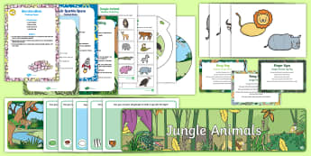 Childminder EYFS Resource Pack to Support Teaching on Rumble in the Jungle - Rumble in the Jungle, Giles Andreae, Rainforest, jungle animals, child minder, childminding,Australi