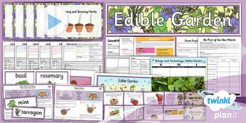 PlanIt - D&T LKS2 - Edible Garden Unit Pack