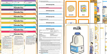 EYFS Pancake Day Lesson Plan Enhancement Ideas and Resource Pack - EYFS, Early Years planning, Pancake Day, Shrove Tuesday, pancakes, Mardi Gras, continuous provision.