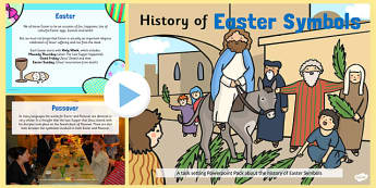 All About Easter Symbols PowerPoint - easter,religion, RE