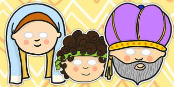 Hannah Eli and Samuel Christianity Roleplay Masks - christianity