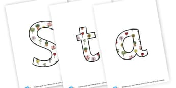 Station Master's Garden - display lettering - Display, Gardening Clubs, Extra Curricular, Primary Resources