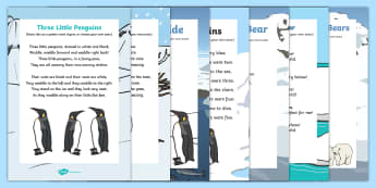 Polar Regions Songs and Rhymes Resource Pack