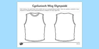 Cynlluniwch Wisg Olympaidd - welsh, cymraeg, brasil, gemau olympaidd, rio, cynllunio, gwisg