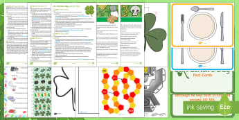KS2 St Patrick's Day Party Planning Lesson Pack - KS1& 2 St Patrick's Day UK March 17th 2017, St Patrick's Day, Saint Patrick's Day, Ireland, Irish