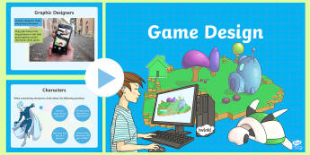 Introduction to Game Design PowerPoint - CfE TechnologiesGame DesignKoduScratch,craft, design,engineering,graphics,Scottish
