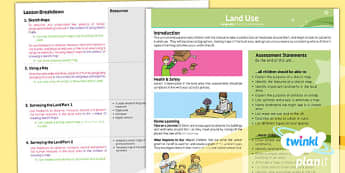 PlanIt - Geography LKS2 - Land Use Planning Overview - land use, overview