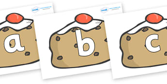 Phoneme Set on Currant Buns - Phoneme set, phonemes, phoneme, Letters and Sounds, DfES, display, Phase 1, Phase 2, Phase 3, Phase 5, Foundation, Literacy