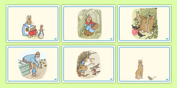 The Tale of Peter Rabbit Short Story Sequencing - peter, rabbit