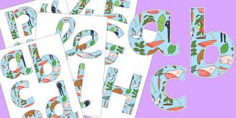 Omnivore Themed Display Lettering - omnivore, display, lettering, science